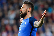 Olivier Giroud (FRA) desappointed during the Friendly Game football match between France and Spain on March 28, 2017 at Stade de France in Saint-Denis, France - Photo Stephane Allaman / ProSportsImages / DPPI