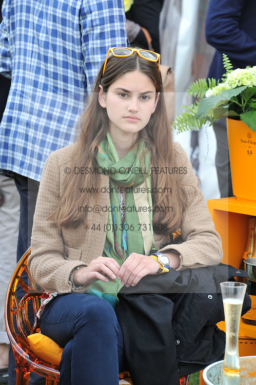 OLIVIA DONOSO at the 2011 Veuve Clicquot Gold Cup Final at Cowdray Park, Midhurst, West Sussex on 17th July 2011.