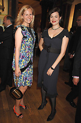 Left to right, ALANNAH WESTON and JASMINE GUINNESS at the Royal Academy of Art Summer Exhibition Preview Party on 4th June 2008.<br />