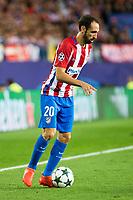 Atletico de Madrid's player Juanfran Torres during match of UEFA Champions League at Vicente Calderon Stadium in Madrid. September 28, Spain. 2016. (ALTERPHOTOS/BorjaB.Hojas)