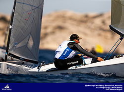Marseille, France is hosting the Final of the 2019 Hempel World Cup Series from 2-9 June 2019. Held at the venue of the Paris 2024 Olympic Sailing Competition, more than 300 sailors from 40 nations are racing across ten Olympic Events as well as an Open Kiteboarding fleet. <br /> <br /> ©PEDRO MARTINEZ/SAILING ENERGY/WORLD SAILING<br /> 04 June, 2019.