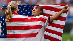 07-07-2019 FRA: Final USA - Netherlands, Lyon<br /> FIFA Women's World Cup France final match between United States of America and Netherlands at Parc Olympique Lyonnais. USA won 2-0 / Julie Ertz #8 of the United States