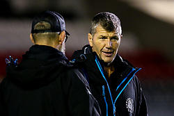 Exeter Chiefs director of rugby Rob Baxter - Mandatory by-line: Robbie Stephenson/JMP - 27/09/2019 - RUGBY - Welford Road - Leicester, England - Leicester Tigers v Exeter Chiefs - Premiership Rugby Cup