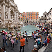 High resolution image of Fontana di Trevi (Trevi Fountain), Rome