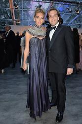 JOSEPH & SABINE GETTY at British Vogue's Centenary Gala Dinner in Kensington Gardens, London on 23rd May 2016.