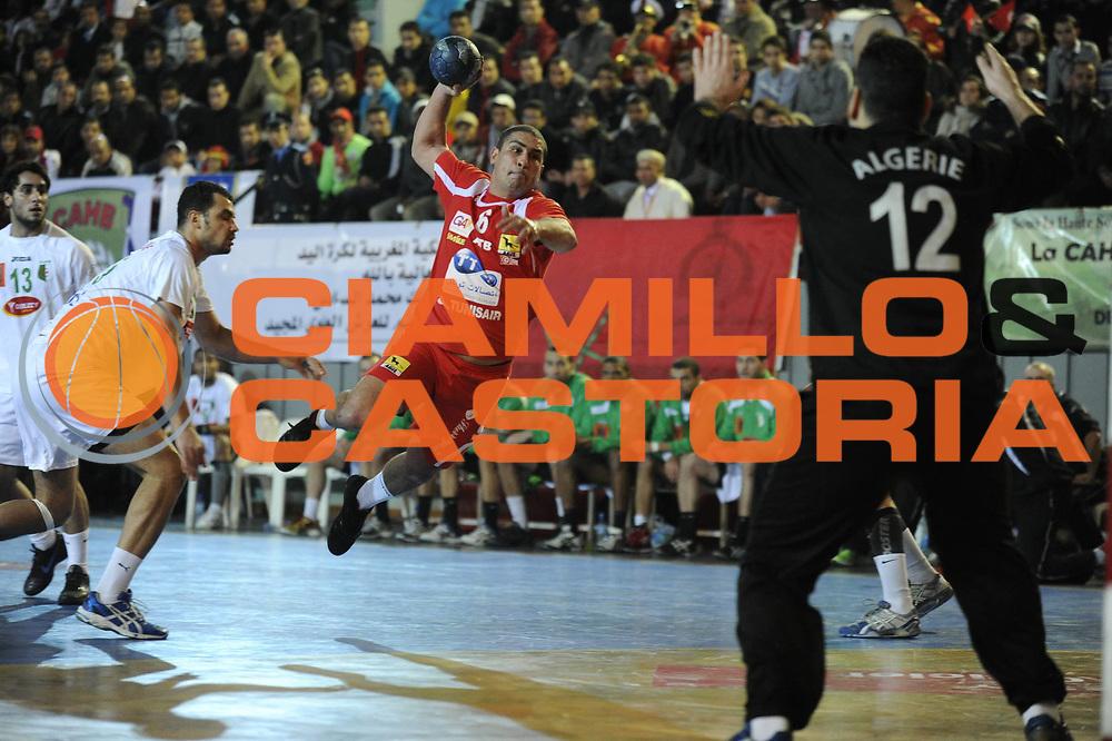 DESCRIZIONE : Hand Coupe Afrique des Nations Homme Maroc Rabat Finale<br /> GIOCATORE : TEJ Wissem<br /> SQUADRA : Tunisie<br /> EVENTO : FRANCE Hand CAN<br /> GARA : Algerie Tunisie<br /> DATA :20/01/2012<br /> CATEGORIA : Hand CAN<br /> SPORT : Handball<br /> AUTORE : JF Molliere <br /> Galleria : France Hand 2011-2012 Action<br /> Fotonotizia : CAN Hand RABAT Maroc Finale<br /> Predefinita :
