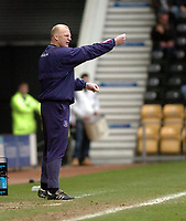 Photo: Leigh Quinnell.<br /> Derby County v Crystal Palace. Coca Cola Championship. 25/03/2006. Palace manager Ian Dowie on the touch line.