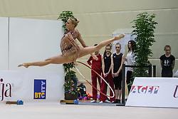 Ruprecht Nicol of Austria competes during 29th MTM - International tournament in rhythmic gymnastics Ljubljana, on March 12, 2016 in gymnastics center Ljubljana, Ljubljana, Slovenia.  Photo by Grega Valancic / Sportida