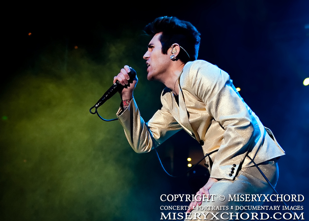 AFI performs at Live 105's Not So Silent Night at Oracle Arena in Oakland, California USA on December 11 2009.