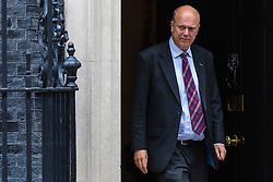 © Licensed to London News Pictures. 11/06/2019. London, UK. Transport Secretary Chris Grayling leaves 10 Downing Street after the Cabinet meeting. Photo credit: Rob Pinney/LNP