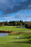DEN DOLDER - Hole 18.Golfsocieteit De Lage Vuursche. FOTO KOEN SUYK