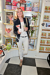 LIZZY PELLY at a party to launch Biscuiteers Fashion Biscuit Collection inspired by Alice Naylor-Leyland's wardrobe held at Biscuiteers, 194 Kensington Park Road, London W11 on 23rd June 2015.