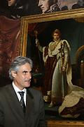 Opening van de Tentoonstelling Voor Napoleon. Hollanders in oorlogstijd, 1792-1815 in het Legermuseum, Delft.<br /> De tentoonstelling is op 13 oktober geopend door Charles Napoléon, le Prince, een directe afstammeling van Napoleon Bonaparte.  <br /> <br /> Op de foto:<br /> <br /> <br /> <br /> <br /> Charles Napoléon.<br /> <br /> De 54-jarige prince Napoléon is de nazaat van de jongste broer van Napoleon Bonaparte, Jérome. Deze was door keizer Napoleon op de troon van de Duitse staat Westfalen geplaatst. Inmiddels is Charles Napoleon de eerste erfgenaam van de familie Bonaparte, de kroonprins. Een troon ambieert hij echter niet, hij is republikein en zet zich in voor de plaatselijke politiek van Corsica.