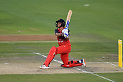 Harmanpreet Kaur of Lancashire Thunder batting during the Women's Cricket Super League match between Southern Vipers and Lancashire Thunder at the 1st Central County Ground, Hove, United Kingdom on 15 August 2019.