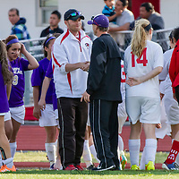04-21-15 Berryville Girls Soccer vs. Green Forest