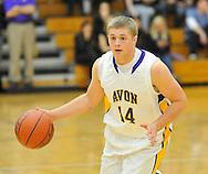 Elyria Catholic at Avon boys varsity basketball on December 16, 2011 in Avon.