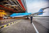 Farewell KLM Fokker 70 Schiphol