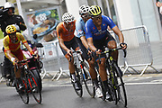 Men Road Race 230,4 km, Matteo Trentin (ITA - Mitchelton - Scott), during the Cycling European Championships Glasgow 2018, in Glasgow City Centre and metropolitan areas, Great Britain, Day 11, on August 12, 2018 - Photo Luca Bettini / BettiniPhoto / ProSportsImages / DPPI - Belgium out, Spain out, Italy out, Netherlands out -