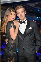 AMY WILLERTON and DANIEL DAY at the Chain of Hope Gala Ball held at The Grosvenor House Hotel, Park Lane, London on 18th November 2016.