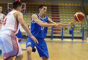 LIGNANO SABBIADORO, 07 LUGLIO 2015<br /> BASKET, EUROPEO MASCHILE UNDER 20<br /> ITALIA-CROAZIA<br /> NELLA FOTO: Diego Flaccadori<br /> FOTO FIBA EUROPE/CASTORIA