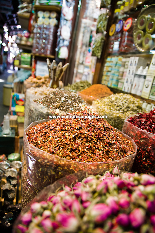 The Spice Souk in Deira in Dubai