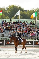 Rihards Snikus, (LAT), Chardonnay - Freestyle Grade Ia Para Dressage - Alltech FEI World Equestrian Games™ 2014 - Normandy, France.<br /> © Hippo Foto Team - Leanjo de Koster<br /> 25/06/14