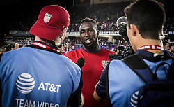 October 6, 2017 - Orlando, Florida, United States - Orlando, FL - Friday Oct. 06, 2017: Jozy Altidore during a 2018 FIFA World Cup Qualifier between the men's national teams of the United States (USA) and Panama (PAN) at Orlando City Stadium. (Credit Image: © John Dorton/ISIPhotos via ZUMA Wire)