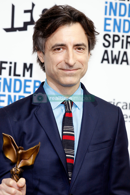 February 9, 2020, Santa Monica, Kalifornien, USA: Noah Baumbach (bestes Drehbuch 'Marriage Story') beim Photocall mit den Preisträgern der 35. Verleihung der Film Independent Spirit Awards 2020 im Zelt am Santa Monica Beach. Santa Monica, 08.02.2020 (Credit Image: © Future-Image via ZUMA Press)