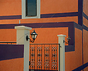 "Colorful building in Roma in Texas' Rio Grande Valley. NOTE: Click ""Shopping Cart"" icon for available sizes and prices. Doing so does not constitute making a purchase. To purchase, additional steps are required."