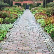 Path in autumn, Somerset