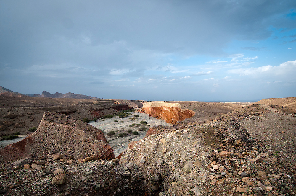 The road to Danakil Depression, northeastern Ethiopia.
