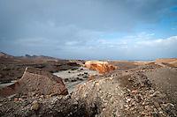 The road to Danakil Depression, northeastern Ethiopia.