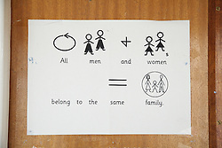 Makaton symbols; an alternative communication method used in a special school,