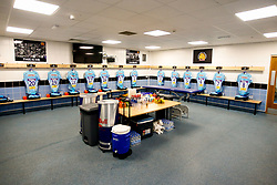 A general view of home changing room prior to kick off at Sandy Park Stadium  - Mandatory by-line: Ryan Hiscott/JMP - 13/10/2018 - RUGBY - Sandy Park Stadium - Exeter, England - Exeter Chiefs v Munster Rugby - European Rugby Champions Cup