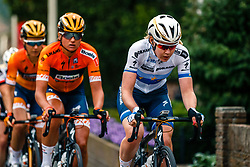 Peloton with Anna van der Breggen of Boels Dolmans Cycling Team during 2017 National Road Race Championships Netherlands for Women Elite, Montferland, The Netherlands, 24 June 2017. Photo by Pim Nijland / PelotonPhotos.com | All photos usage must carry mandatory copyright credit (Peloton Photos | Pim Nijland)
