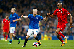 Davy Klaassen of Everton and Steven N'Zonzi of Sevilla - Mandatory by-line: Matt McNulty/JMP - 06/08/2017 - FOOTBALL - Goodison Park - Liverpool, England - Everton v Sevilla - Pre-season friendly