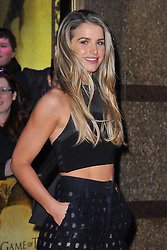 Vogue Williams attends the Game of Thrones: Hardhome - special screening at the Empire, Leicester Square in London, England. 14th March 2016. EXPA Pictures © 2016, PhotoCredit: EXPA/ Photoshot/ James Warren<br /> <br /> *****ATTENTION - for AUT, SLO, CRO, SRB, BIH, MAZ, SUI only*****