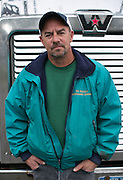 Tim Capuano is a driver for RH Harding in Rochester on Wednesday, October 14, 2015.