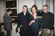 BEN AND KATE GOLDSMITH, ' Copper: A Dog's Life' Lady Annabel Goldsmith book signing. Mungo and Maud, Elizabeth St. London. 20 February 2007.   -DO NOT ARCHIVE-© Copyright Photograph by Dafydd Jones. 248 Clapham Rd. London SW9 0PZ. Tel 0207 820 0771. www.dafjones.com.
