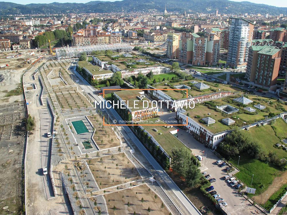 Torino. Enironment Park è il Parco Scientifico Tecnologico realizzato nel 2000 nell'ambito della trasformazione urbana dell'ex area industriale della zona Spina 3. E' il luogo di riferimento per le imprese che puntano al mercato delle Clean Technlogies e dell'economia circolare. Un'esperienza originale tra i Parchi europei, che incentiva la crescita dell'innovazione lavorando con le imprese che puntano sulla sostenibilità ambientale per sviluppare nuove opportunità di business.