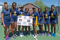 2015 A&T Women's Tennis vs Delaware State