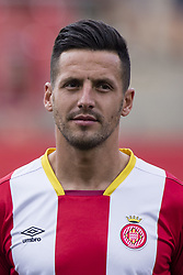 August 15, 2017 - Girona, Spain - Portrait of Aday Benitez from Spain of Girona FC during the Costa Brava Trophy match between Girona FC and Manchester City at Estadi de Montilivi on August 15, 2017 in Girona, Spain. (Credit Image: © Xavier Bonilla/NurPhoto via ZUMA Press)
