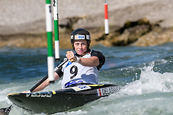 Marjorie DELASSUS of France during the Canoe Single (WC1) Womens Semi Final race of 2019 ICF Canoe Slalom World Cup 4, on June 30, 2019 in Tacen, Ljubljana, Slovenia. Photo by Sasa Pahic Szabo / Sportida