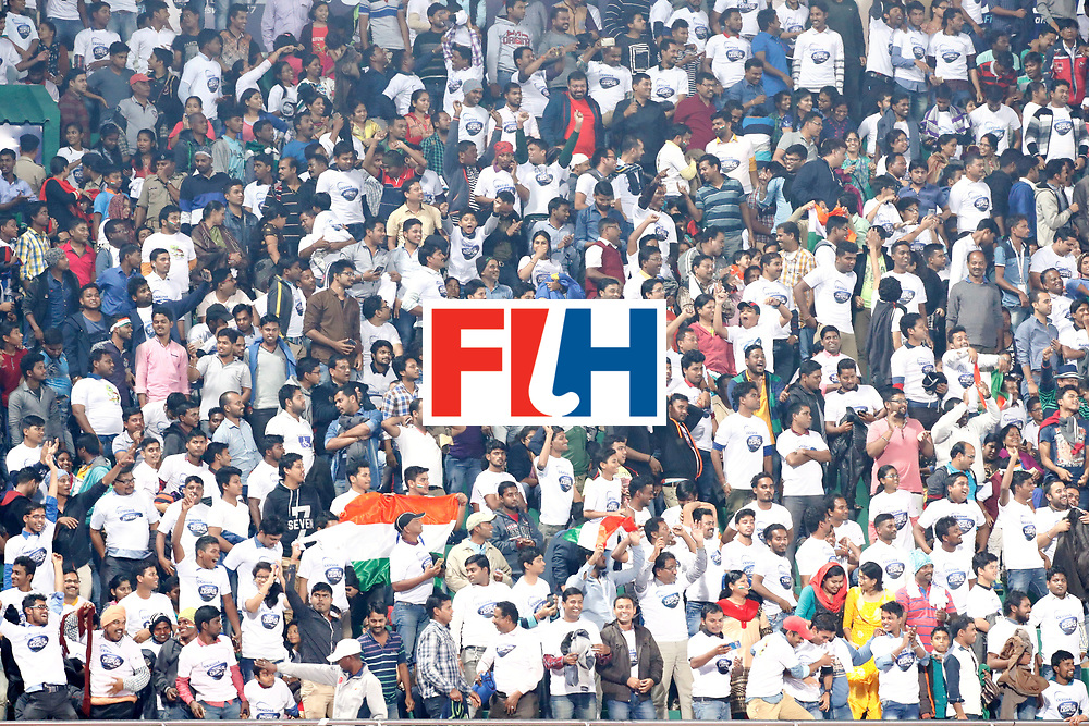 Odisha Men's Hockey World League Final Bhubaneswar 2017<br /> Match id:21<br /> India v Germany<br /> Foto: Fans<br /> WORLDSPORTPICS COPYRIGHT KOEN SUYK