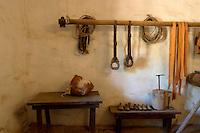 Cattle Branding Room at Mission La Purisima, Lompoc, California