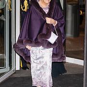 NLD/Amsterdam/20161129 - Staatsbezoek dag 2, contraprestatie Belgische koningspaar, Prinses Beatrix