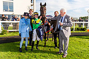 Midnights Legacy ridden by Tom Marquand and trained by A King - Ryan Hiscott/JMP - 16/10/2019 - PR - Bath Racecourse - Bath, England - Race Meeting at Bath Racecourse