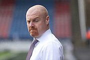 Burnley Manager Sean Dyche  during the Sky Bet Championship match between Huddersfield Town and Burnley at the John Smiths Stadium, Huddersfield, England on 12 March 2016. Photo by Simon Davies.