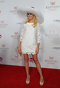 Laura Bell Bundy walks the Kentucky Derby Red Carpet, Saturday, May 3, 2014, in Louisville, Ky. Longines, the Swiss watchmaker known for its famous timepieces, is the Official Watch and Timekeeper of the 140th annual Kentucky Derby. (Photo by Diane Bondareff/Invision for Longines/AP Images)