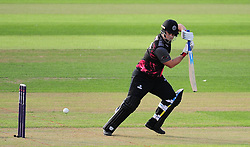 Jim Allenby of Somerset in action.  - Mandatory by-line: Alex Davidson/JMP - 22/07/2016 - CRICKET - Th SSE Swalec Stadium - Cardiff, United Kingdom - Glamorgan v Somerset - NatWest T20 Blast